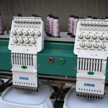 Compact Cap Embroidery Machine
